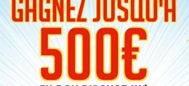Jeu Anniversaire Bricorama : 226 bons d'achat de 20€ et 500€