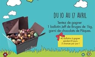 40 ballotins de chocolats Jeff de Bruges à gagner