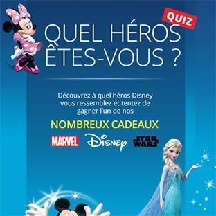Jeu Auchan : 275 cadeaux Disney à gagner