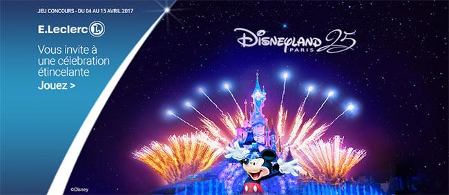 Grand jeu Disneyland Paris avec E.Leclerc