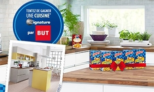Jeu Lustucru 100% gagnant : 1 cuisine et 1290 lots à gagner