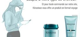 Jeu Kérastase : Des lots de soins capillaires à gagner