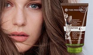 Jeu Yves Rocher : 100 soins de nuit Réparation cheveux à gagner