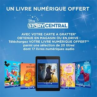 Cartes à gratter Leclerc : Livres numériques Disney offerts