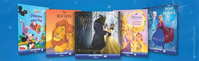 Des livres numériques Disney offerts par Leclerc