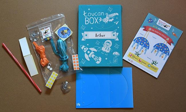 Kit toucanBox offert pour stimuler la créativité