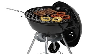 Promo Gifi : Barbecue rond à couvercle à 18,89€ seulement