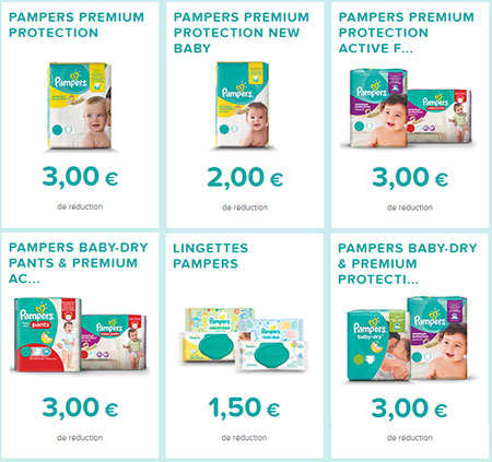 Bons de r duction pampers imprimer echantillons club - Reduction couches pampers a imprimer ...