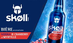 Test de la bière Skoll Ice Berry : 3000 bouteilles gratuites