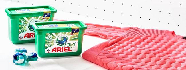 testez gratuitement la lessive Ariel Pods 3en1 avec Aufeminin