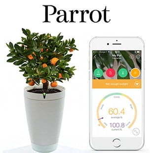 Test Parrot : 15 pots de plantes connectés gratuits