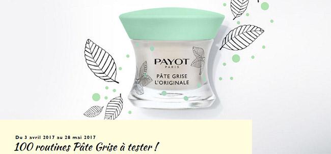 testez gratuitement un duo de soins Payot