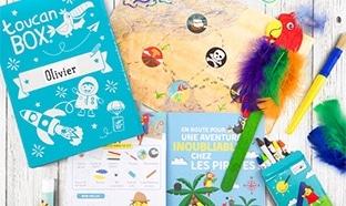 toucanBox gratuit : 1er kit créatif pour enfants offert