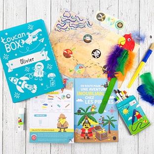 toucanBox gratuit : 1er kit créatif pour enfants offert (hors fdp)