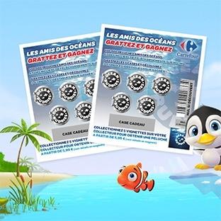 Carrefour Ocean Buddies : Peluches + Voyages à gagner