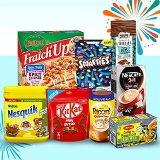 Jeu Croquons les nouveautés : 1010 box Nestlé à gagner