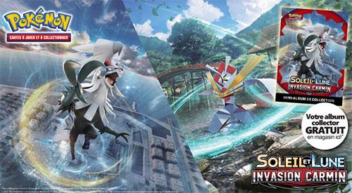 mini-album Soleil et Lune Pokémon gratuit chez Micromania