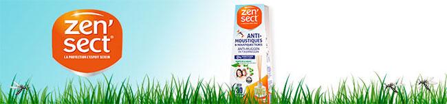 recevez l'un des 1500 lots de 4 diffuseurs anti-moustiques Zen'Sect