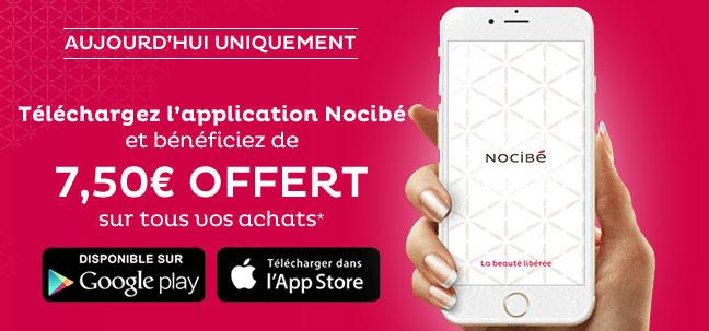 Bon d'achat Nocibé gratuit de 7,50€