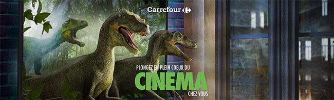 en plein cœur du cinéma avec les cadeaux du jeu Carrefour