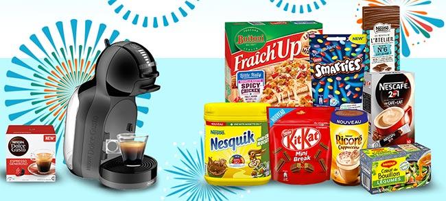 1010 coffrets de produits Nestlé à remporter