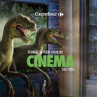 Jeu Carrefour fait son cinéma : 100 lots (voyage, TV, PS4 …)