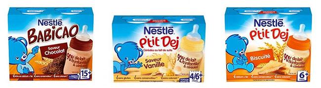 testez gratuitement l'un des 1500 lots de Nestlé P'tit Dej