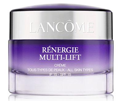 tentez de recevoir une crème Rénergie Lancôme