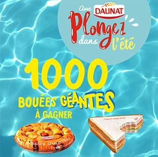 Un produit Daunat acheté = Bouée sandwich ou cookie offerte