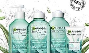 échantillons gratuits Garnier de soins SkinActive