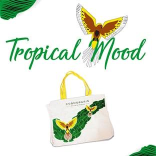 Jeu Tropical Mood Cosmoparis : 500 Tote-bags d'été à gagner
