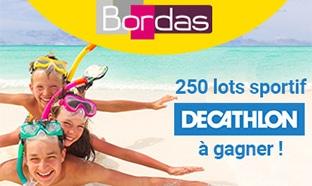 Jeu de l'été Bordas : 250 lots sportifs Decathlon