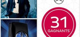 Jeu Nocibé Noci-Quiz : 34 parfums Mercedes-Benz à gagner