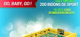 Jeu Sirop Sport : 1205 cadeaux à gagner dont 5 baby-foot