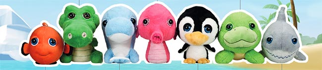 Peluches Ocean Buddies