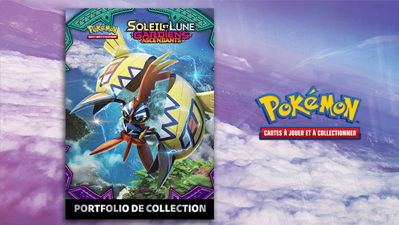 portfolio Soleil et Lune Pokémon gratuit avec Micromania