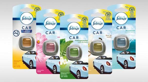 Diffuseur Febreze Car gratuit