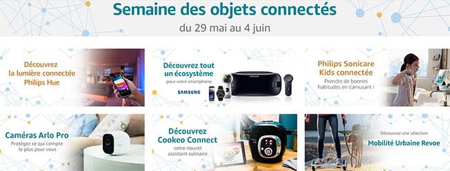 La semaine des objets connectés sur Amazon