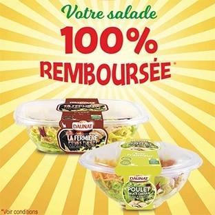 ODR Quoty : Salade Daunat gratuite car 100% remboursée