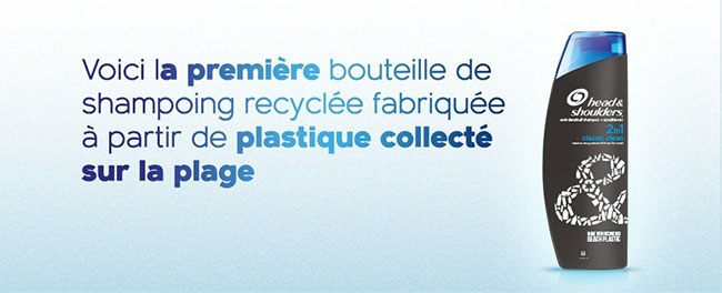 100 flacons recyclés de shampoing Head & Shoulders gratuits