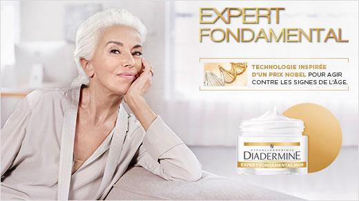 testez la crème Expert Fondamental de Diadermine