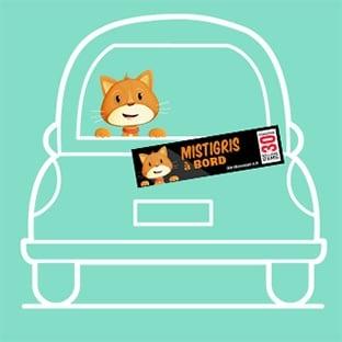 Stickers «Animal à bord» personnalisés gratuits