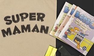 """Kit """"Super Maman - Super Papa"""" gratuit offert par AXA"""