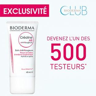 Test Bioderma : 500 soins Anti-Rougeurs Créaline AR gratuits