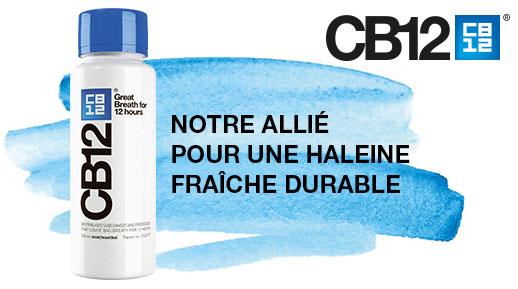 testez gratuitement le bain de bouche CB12 offert