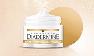 Test Diadermine : crèmes Expert Fondamental gratuites