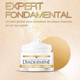 Test Diadermine : 1000 crèmes Expert Fondamental gratuites