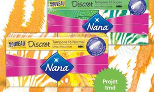 Test des tampons Nana Discret : 2'400 packs gratuits