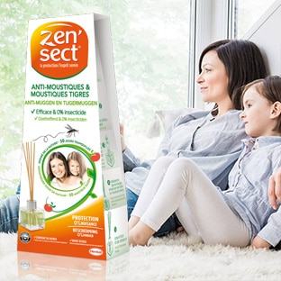 Test du diffuseur Zen'Sect anti-moustiques : 4500 gratuits