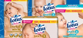 Test de couches Lotus Baby Touch : 8000 paquets gratuits